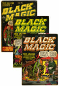 Golden Age (1938-1955):Horror, Black Magic Group (Prize, 1951-52).... (Total: 5 Comic Books)