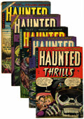 Golden Age (1938-1955):Horror, Haunted Thrills Group (Farrell, 1953-54).... (Total: 5 Comic Books)