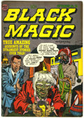 Golden Age (1938-1955):Horror, Black Magic #16 Double Cover (Prize, 1952) Condition: FN+....