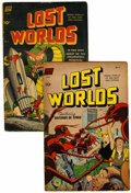 Golden Age (1938-1955):Science Fiction, Lost Worlds #5 and 6 Group (Standard, 1952).... (Total: 2 ComicBooks)