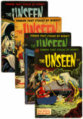 Golden Age (1938-1955):Horror, The Unseen #12-15 Group (Standard, 1953-54)....