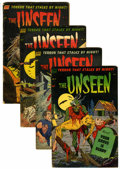 Golden Age (1938-1955):Horror, The Unseen #8-11 Group (Standard, 1953).... (Total: 4 Comic Books)