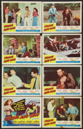 "Movie Posters:Bad Girl, Young and Wild (Republic, 1958). Lobby Card Set of 8 (11"" X 14""). Bad Girl.. ... (Total: 8 Items)"
