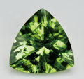 Gems:Faceted, BRIGHT GREEN PERIDOT. ...