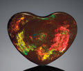 "Gems:Cabochons, CHOCOLATE OPAL ""HEART"". ..."