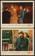 """Movie Posters:Hitchcock, The Wrong Man (Warner Brothers, 1957). Lobby Cards (2) (11"""" X 14"""").Hitchcock.. ... (Total: 2 Items)"""
