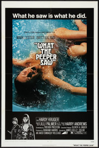 """What the Peeper Saw (Avco Embassy, 1972). One Sheet (27"""" X 41""""). Thriller"""