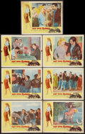 """Movie Posters:Exploitation, Hot Rod Rumble (Allied Artists, 1957). Lobby Cards (7) (11"""" X 14"""").Exploitation.. ... (Total: 7 Items)"""