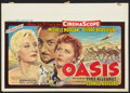 "Movie Posters:Adventure, Oasis (20th Century Fox, 1955). Belgian (14.75"" X 21.25"").Adventure.. ..."