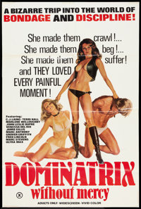 "Dominatrix Without Mercy (Star Films, 1976). Poster (25"" X 37.5""). Adult"