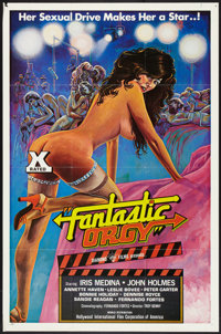 "Fantastic Orgy (Hollywood International Film Corp., 1977). One Sheet (27"" X 41""). Adult"