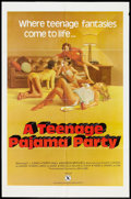"Movie Posters:Adult, A Teenage Pajama Party (VEP, 1977). Poster (25"" X 38""). Adult.. ..."