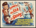 "Movie Posters:Adventure, Down to the Sea in Ships (20th Century Fox, 1949). Half Sheet (22""X 28""). Adventure.. ..."