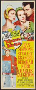 "Movie Posters:Drama, Young Bess (MGM, 1953). Insert (14"" X 36""). Drama.. ..."