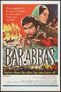 """Movie Posters:Adventure, Barabbas Lot (Columbia, 1962). One Sheets (2) (27"""" X 41"""").Adventure.. ... (Total: 2 Items)"""
