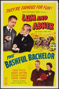 """Movie Posters:Comedy, The Bashful Bachelor (Post Pictures, R-1950). One Sheet (27"""" X 41""""). Comedy.. ..."""