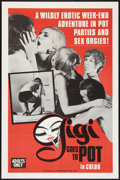"""Movie Posters:Adult, Gigi Goes to Pot (Chancellor Films, Inc., 1971). One Sheet (27"""" X 41""""). Adult.. ..."""