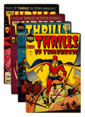 Golden Age (1938-1955):Horror, Thrills of Tomorrow #17-20 Group (Harvey, 1954-55).... (Total: 4Comic Books)