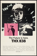 """Movie Posters:Science Fiction, THX 1138 (Warner Brothers, 1971). One Sheet (27"""" X 41""""). ScienceFiction.. ..."""