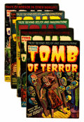 Golden Age (1938-1955):Horror, Tomb of Terror Group (Harvey, 1953-54).... (Total: 5 Comic Books)