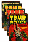 Golden Age (1938-1955):Horror, Tomb of Terror Group (Harvey, 1952-53).... (Total: 4 Comic Books)