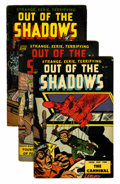 Golden Age (1938-1955):Horror, Out Of The Shadows Group (Standard, 1953-54).... (Total: 6 ComicBooks)