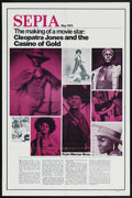 "Movie Posters:Blaxploitation, Cleopatra Jones and the Casino of Gold (Warner Brothers, 1975). OneSheet (27"" X 41"") ""Sepia"" Style. Blaxploitation...."