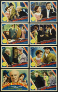"""Movie Posters:Comedy, The Bishop Misbehaves (MGM, 1935). Lobby Card Set of 8 (11"""" X 14"""").Comedy. ... (Total: 8 Items)"""