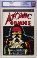 Golden Age (1938-1955):Crime, Atomic Comics #1 Vancouver pedigree (Green Publishing Co., 1946) CGC NM+ 9.6 White pages. ...