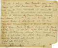 "Autographs:Statesmen, Declaration of Independence Signer William Paca ADS, ""Wm.Paca"", one page with docketing, 8.25"" x 7"", n.p. (likelyMaryl..."