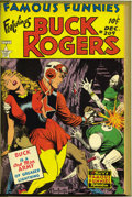 Golden Age (1938-1955):Miscellaneous, Famous Funnies #205-212 File Copy Bound Volume (Eastern Color, 1953-54)....