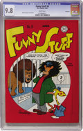 Golden Age (1938-1955):Funny Animal, Funny Stuff #8 Vancouver pedigree (DC, 1946) CGC NM/MT 9.8 Whitepages....