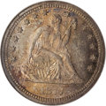Seated Quarters, 1877-CC 25C MS66 NGC....