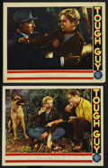 "Movie Posters:Drama, Tough Guy (MGM, 1936). Lobby Cards (2) (11"" X 14""). Drama. ... (Total: 2 Items)"