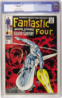 Fantastic Four #72 (Marvel, 1968) CGC NM 9.4 Off-white to white pages