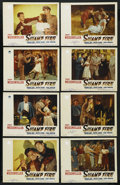 "Movie Posters:Adventure, Swamp Fire (Paramount, 1946). Lobby Card Set of 8 (11"" X 14"").Adventure. ... (Total: 8 Items)"