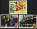 "Movie Posters:War, Command Decision (MGM, 1948). Title Lobby Card and Lobby Cards (2)(11"" X 14""). War. ... (Total: 3 Items)"