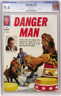 Silver Age (1956-1969):Adventure, Four Color #1231 Danger Man (Dell, 1961) CGC NM 9.4 Off-white pages....