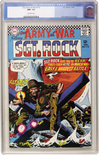 Our Army at War #173 (DC, 1966) CGC NM+ 9.6 Off-white pages