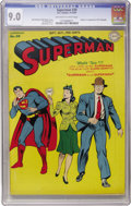 Golden Age (1938-1955):Superhero, Superman #30 (DC, 1944) CGC VF/NM 9.0 Off-white to white pages....