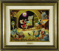 "Original Comic Art:Paintings, Carl Barks - ""Spoiling the Concert"" Oil Painting Original Art (1973)...."