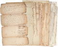Miscellaneous:Ephemera, Pennsylvania Taverns: Group of Licensing Petitions, dating between1783 and 1853. Numerous documents, most are in manuscript...