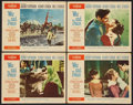 "Movie Posters:Drama, War and Peace (Paramount, 1956). Lobby Cards (4) (11"" X 14""). Drama.. ... (Total: 4 Items)"