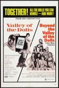 "Movie Posters:Cult Classic, Valley of the Dolls/Beyond the Valley of the Dolls Combo (20thCentury Fox, R-1971). One Sheet (27"" X 41""). Cult Classic.. ..."