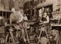 Photographs:20th Century, ARTHUR ROTHSTEIN (American, 1915-1985). Saddle Makers CapriolaSaddlery Elko, Nevada, March, 1940, 1940. Gelatin silver,...