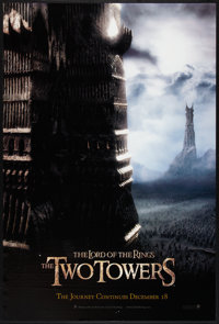 """The Lord of the Rings: The Two Towers (New Line, 2002). One Sheet (26.75"""" X 39.75"""") SS Advance Style D. Fantas..."""