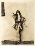Photographs, ALFRED CHENEY JOHNSTON (American, 1885-1971). Louise Brooks. Gelatin silver , vintage print. Paper: 14 x 11 inches (35.6...