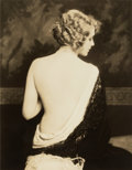 Photographs, ALFRED CHENEY JOHNSTON (American, 1885-1971). Seated Portrait of Gladys Glad, 1927. Gelatin silver. Paper: 14 x 11 inche...