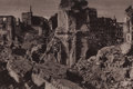 Photographs:20th Century, LEONARD SEMPOLINSKI (Polish, 1902-1988). Warsaw Destruction,1945. Hand coated silver or platinum, 1972. 6-1/4 x 9-1/8 i...