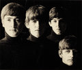 Photographs:Contemporary, ROBERT FREEMAN. Meet the Beatles, 1963. Lithograph. Paper:14-3/4 x 18 inches (37.5 x 45.7 cm). Image: 9-1/2 x 11-1/4 in...